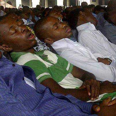 Different types people you must see in church