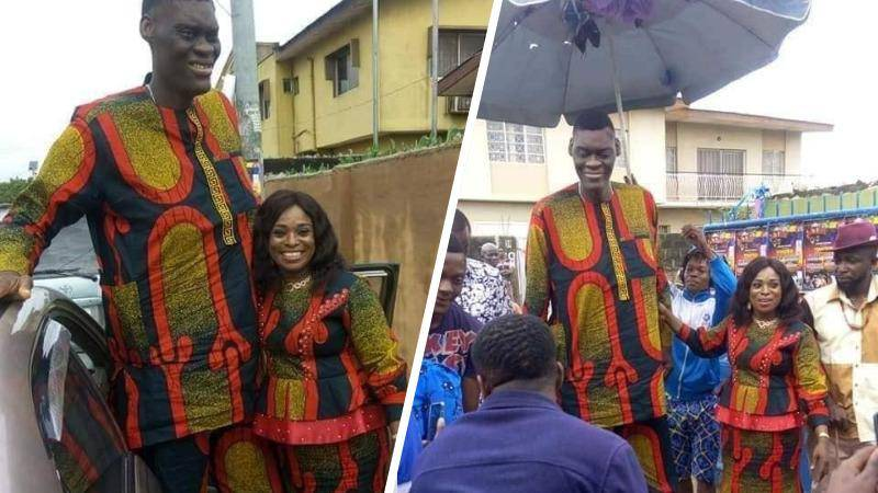 Afeez Agoro, Nigeria's tallest man, not married 14