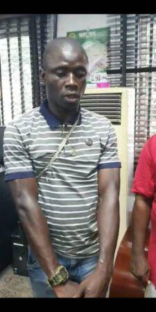 Port-Harcourt serial killer has been apprehended, en-route to Uyo