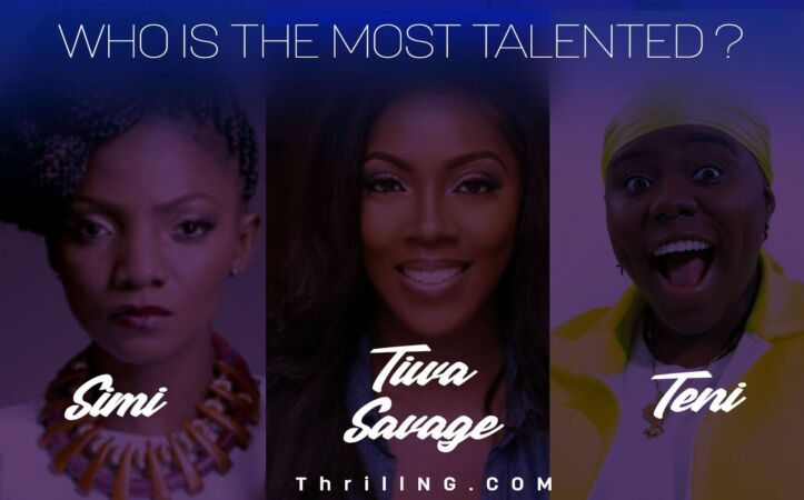 Teni, Tiwa Savage and Simi, who is most talented? 5