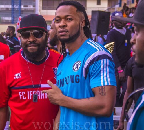 Flavour in chelsea jersey