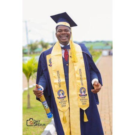 Mr Macaroni graduation