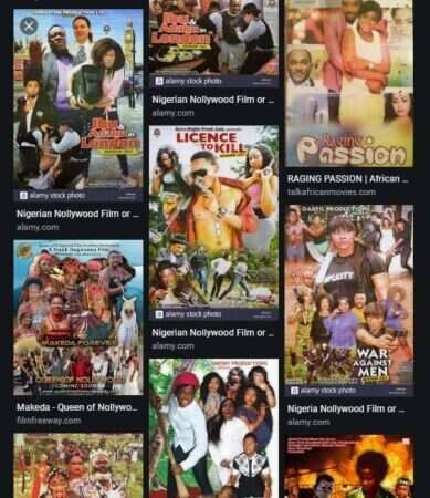 Nollywood movie posters