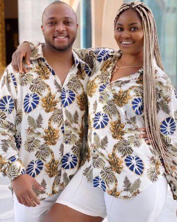 Chizzy Alichi and her husband Chike Ugochukwu Mbah