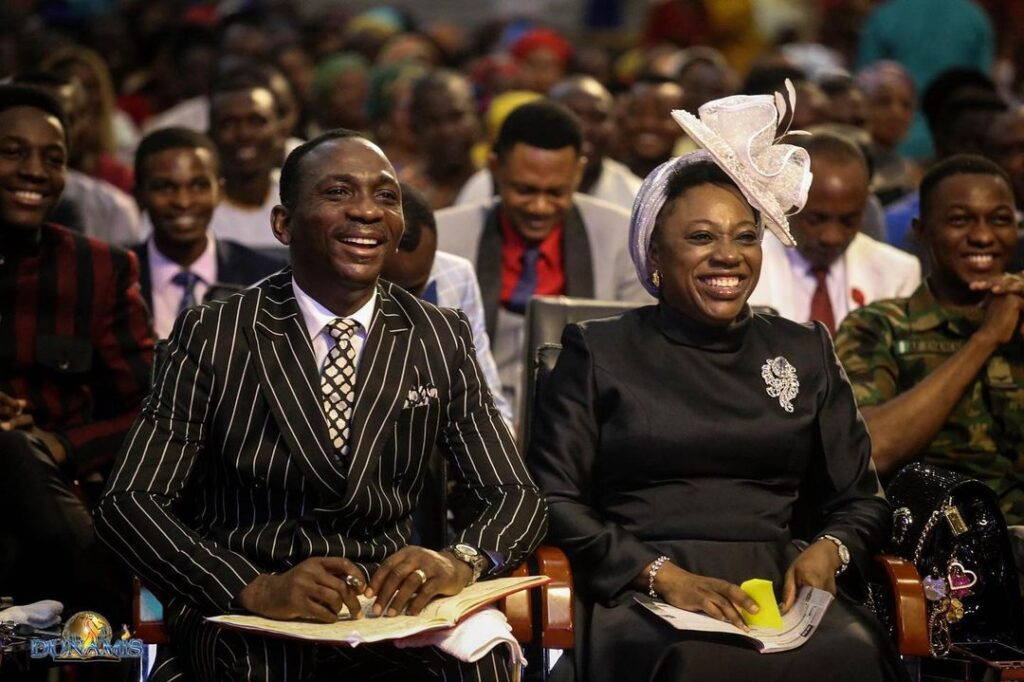 Pastor Paul Enenche and wife