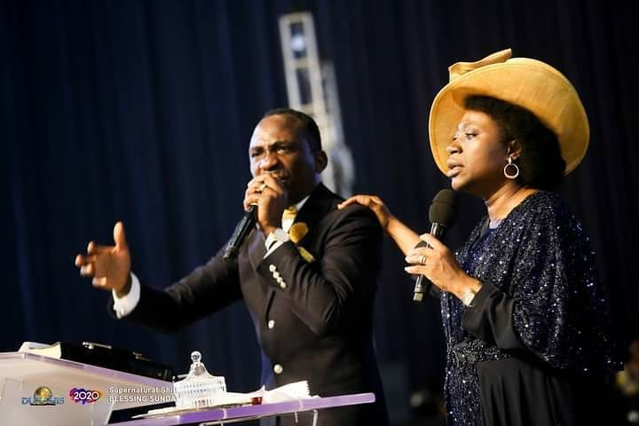 Paul Enenche and Becky Enenche