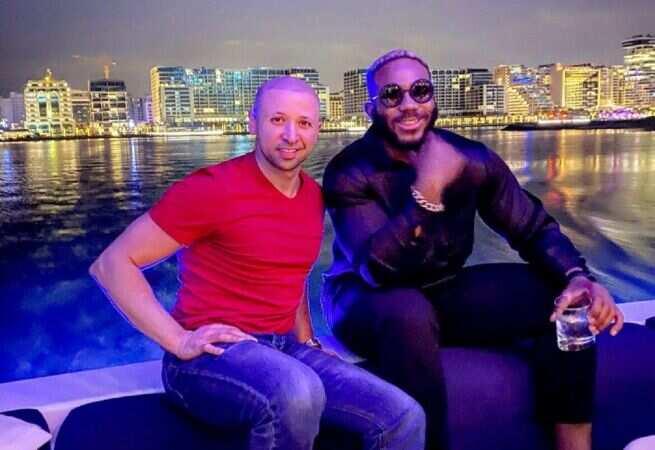 Kiddwaya with King of Dubai son