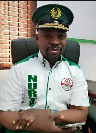 MC Oluomo on NURTW uniform