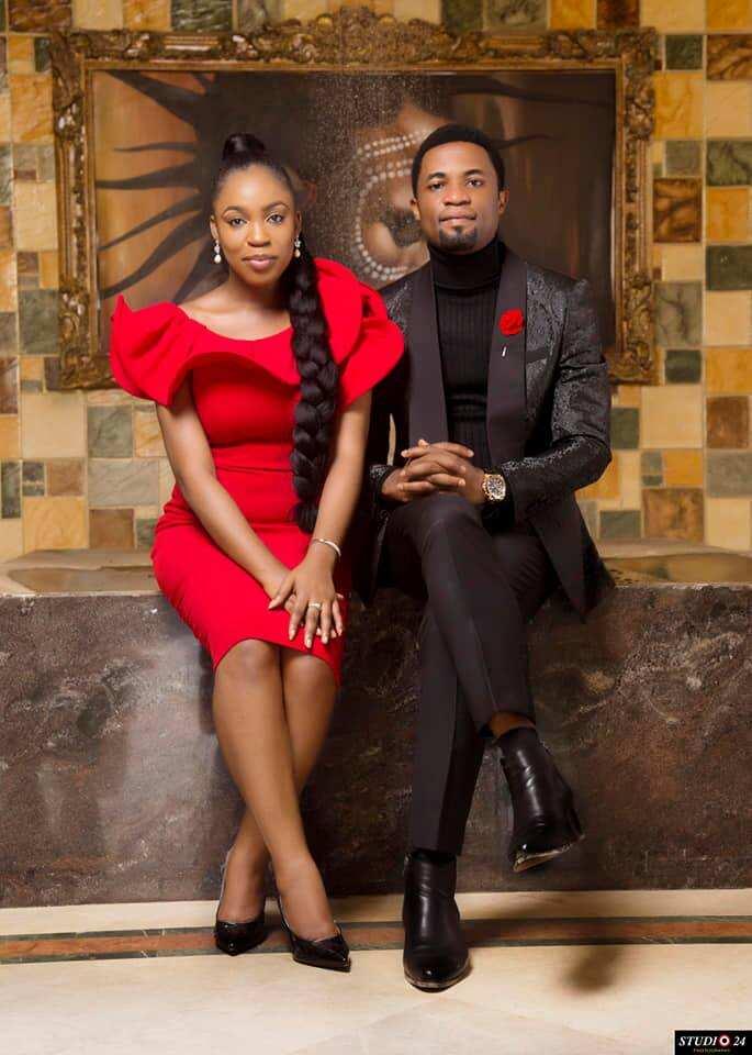 Apostle Michael Orokpo and wife Osenaga Umobuarie