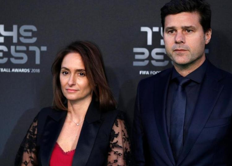 Karina Pochettino and her husband