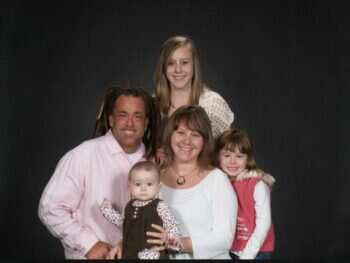 Sarah White Todd White and their Daughters