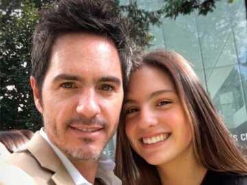 Lorenza Ochmann and her father Mauricio Ochmann 1