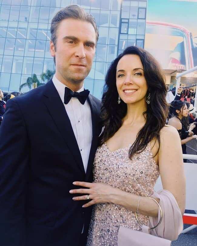Derek Tisdelle and his wife Michelle Morgan
