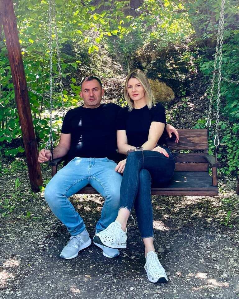 Georgy Kavkaz and his wife Alesia