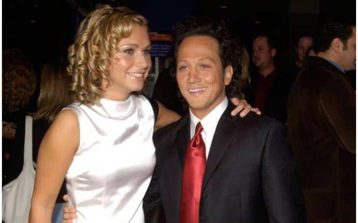 Helena Schneider and Rob Schneider