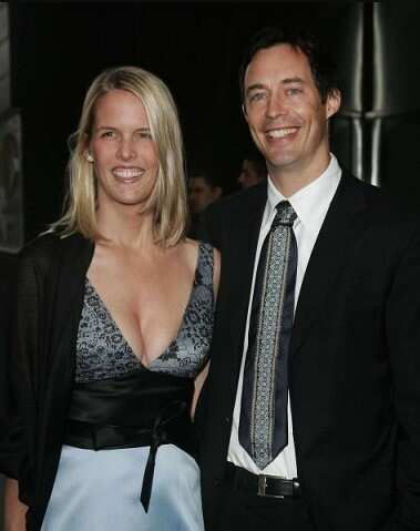 Maureen Grise and her husband Tom Cavanagh
