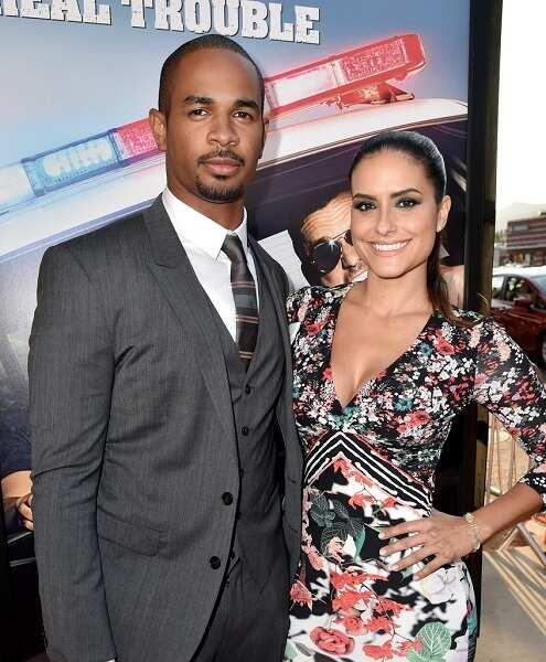 Samara Saravia and husband Damon Wayans