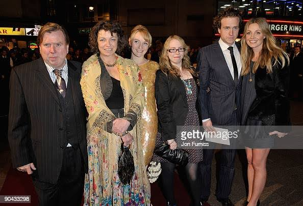 Mercedes Spall and her family from Getty images