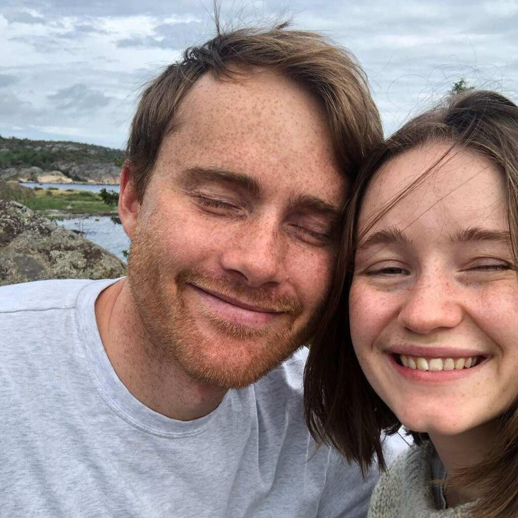 Sigrid and her boyfriend Nikolai Schirmer