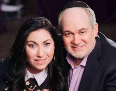 Julia Haart and Yosef Hendler