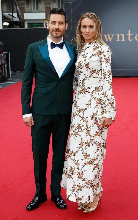 Lauren Chandiram and her husband Robert James Collier