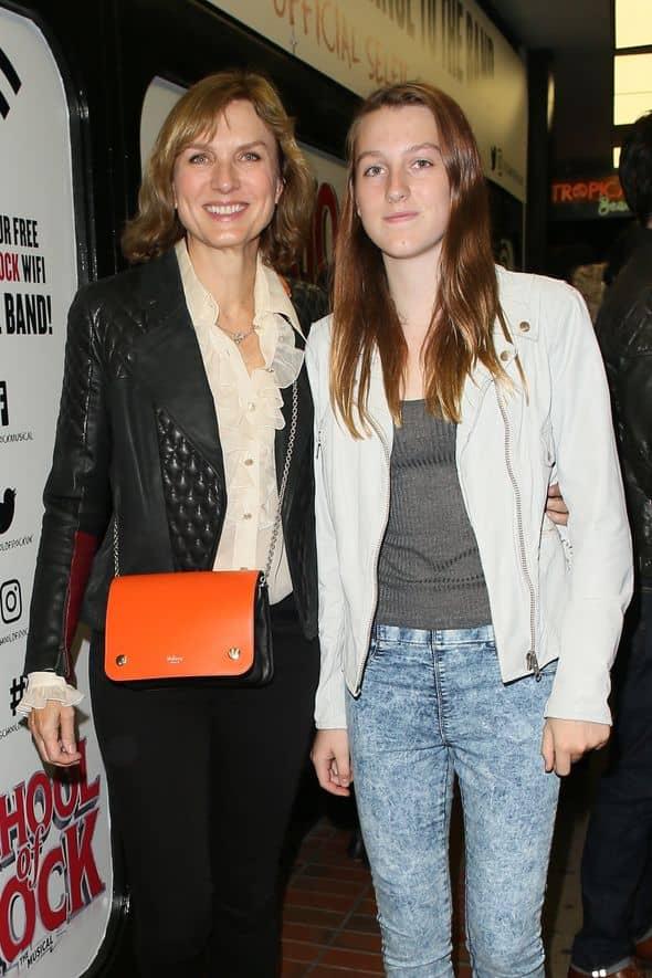 Mia Sharrocks and her mother Fiona Elizabeth