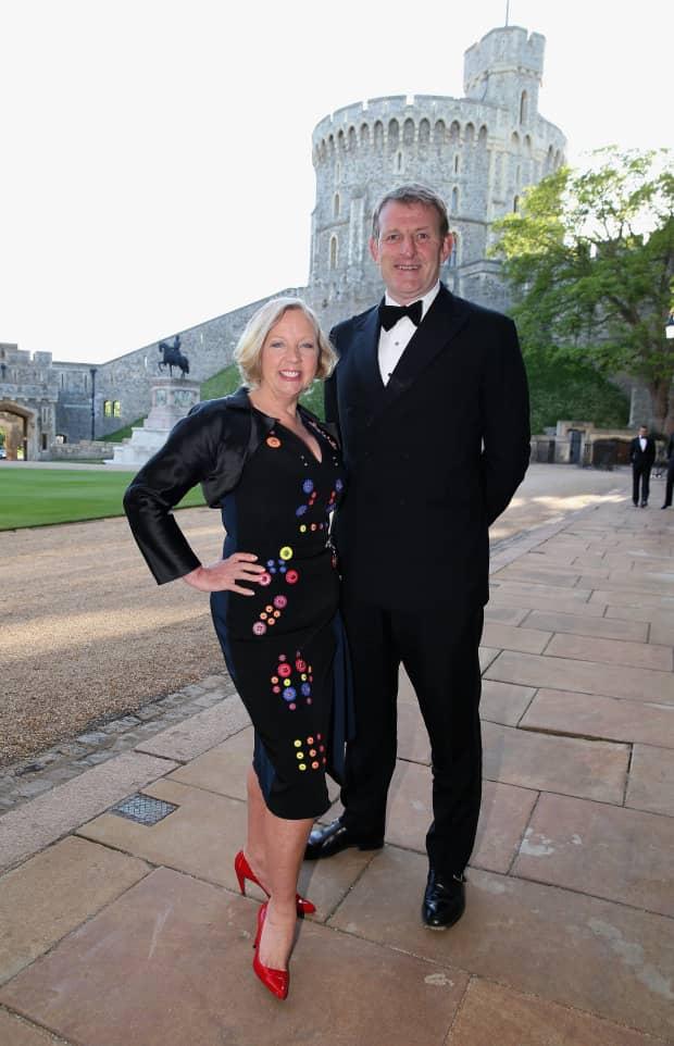 Paul Meaden and his wife Deborah Meaden
