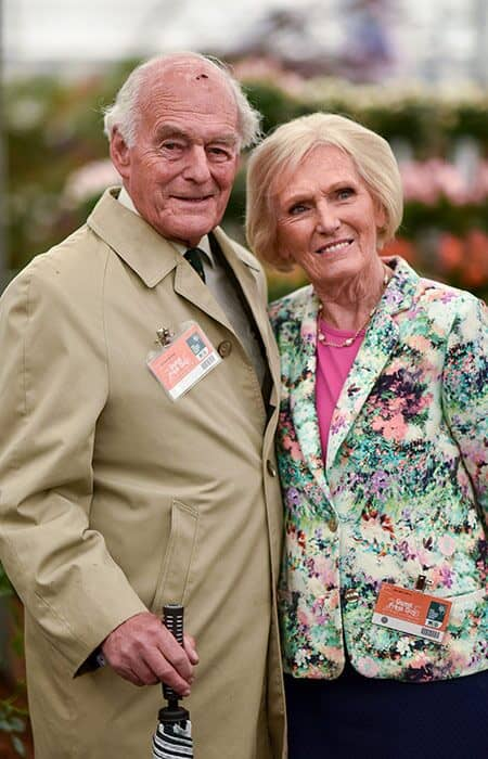 Paul J.M. Hunning and Mary Berry 1