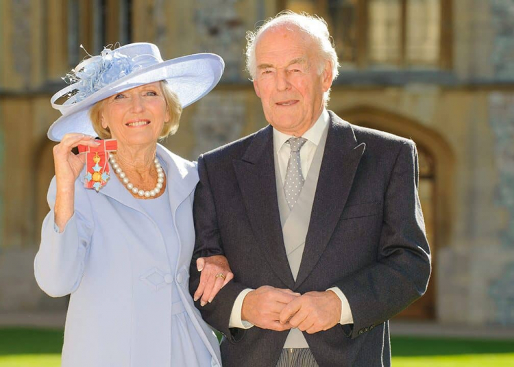 Paul J.M. Hunning and Mary Berry